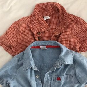 Little old man shirts for boys.